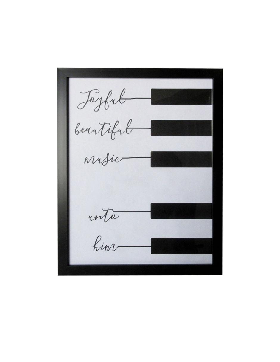 ea191fd119fe0 Litografía Haus Xing Piano Phrase Precio Sugerido